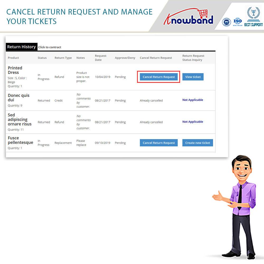 module - Customer Service - Knowband - Order Return Manager(Return Slip & Barcode) - 8