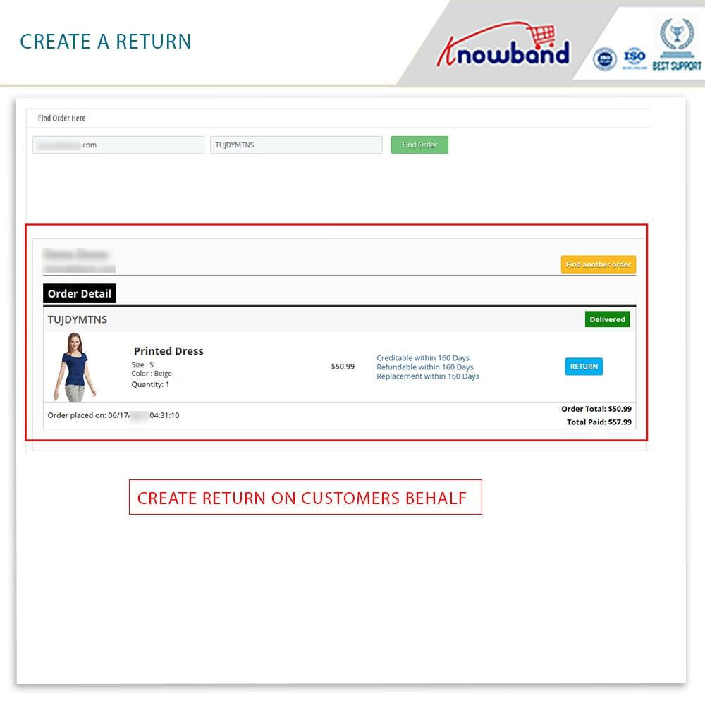 module - Customer Service - Knowband - Order Return Manager(Return Slip & Barcode) - 14