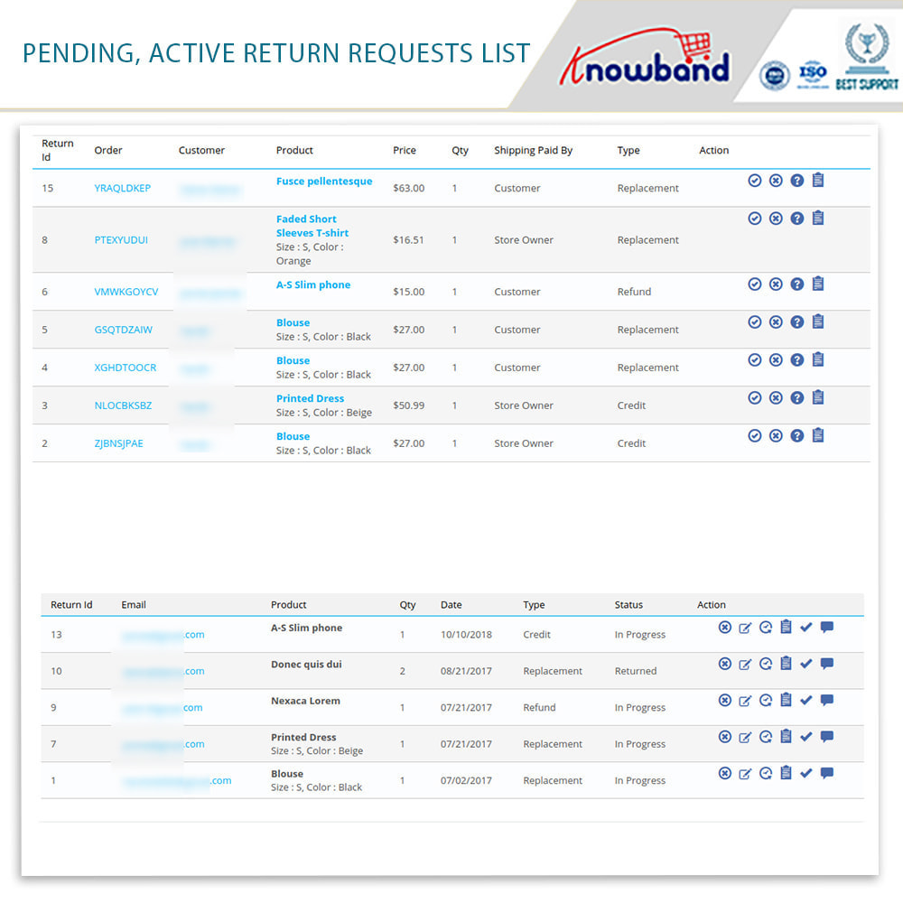 module - Customer Service - Knowband - Order Return Manager(Return Slip & Barcode) - 15