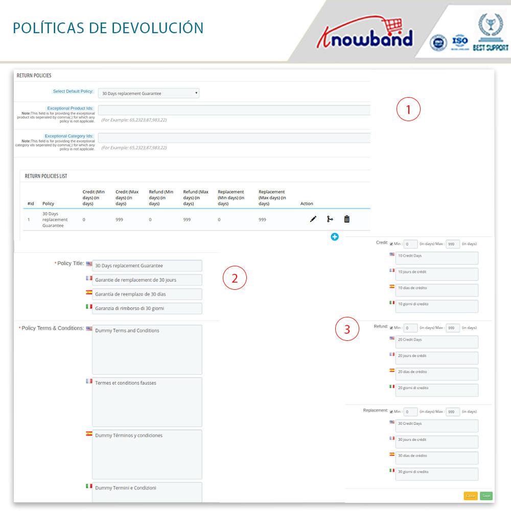 module - Servicio posventa - Knowband - Gestor de Devolución de Pedidos - 11