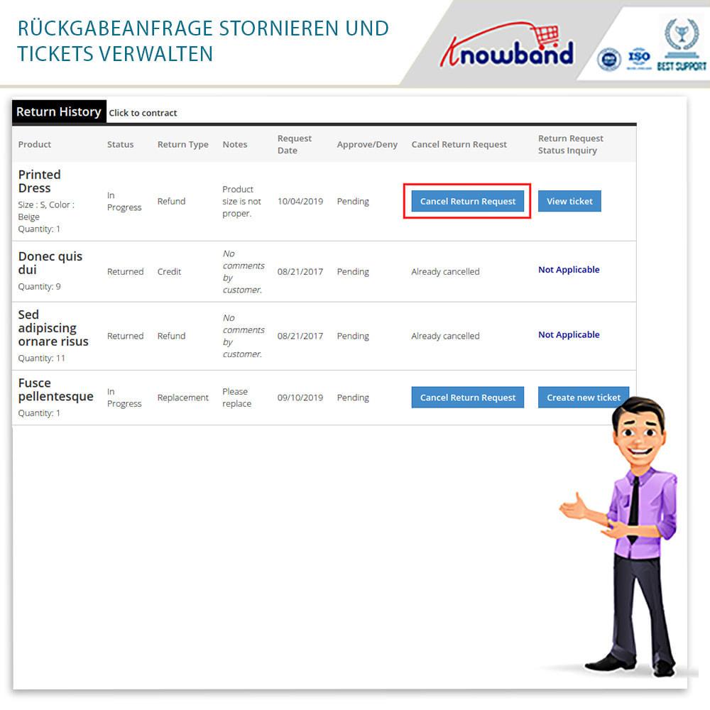 module - Kundenservice - Knowband - Bestellrückleiter-Rückschein mit Barcode - 8