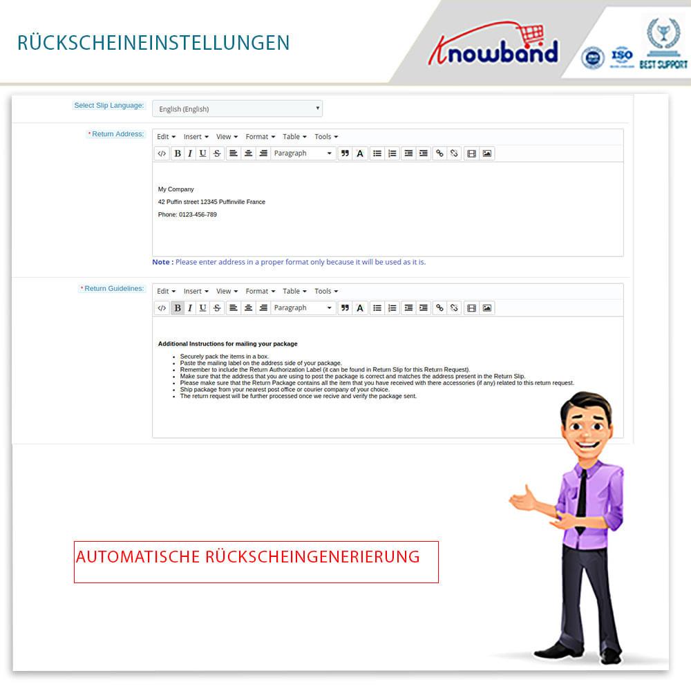 module - Kundenservice - Knowband - Bestellrückleiter-Rückschein mit Barcode - 10