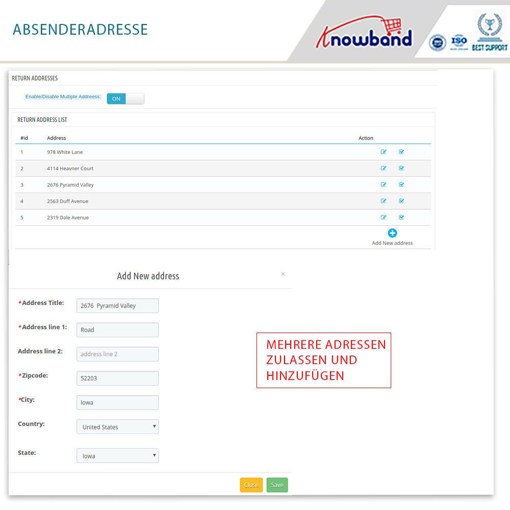 module - Kundenservice - Knowband - Bestellrückleiter-Rückschein mit Barcode - 13