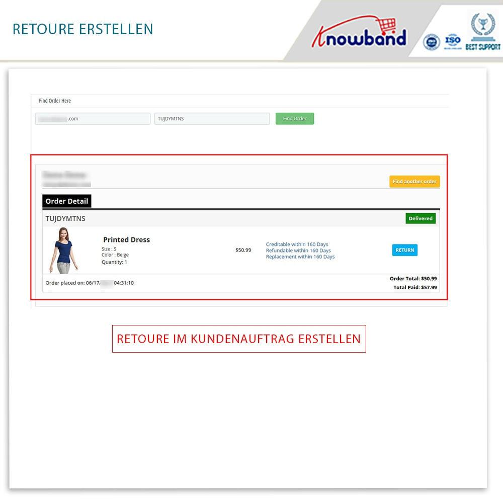 module - Kundenservice - Knowband - Bestellrückleiter-Rückschein mit Barcode - 14