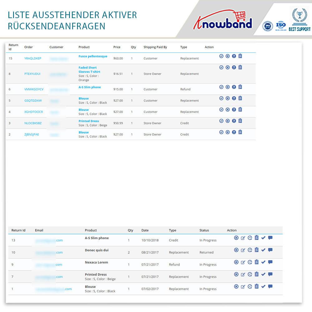 module - Kundenservice - Knowband - Bestellrückleiter-Rückschein mit Barcode - 15