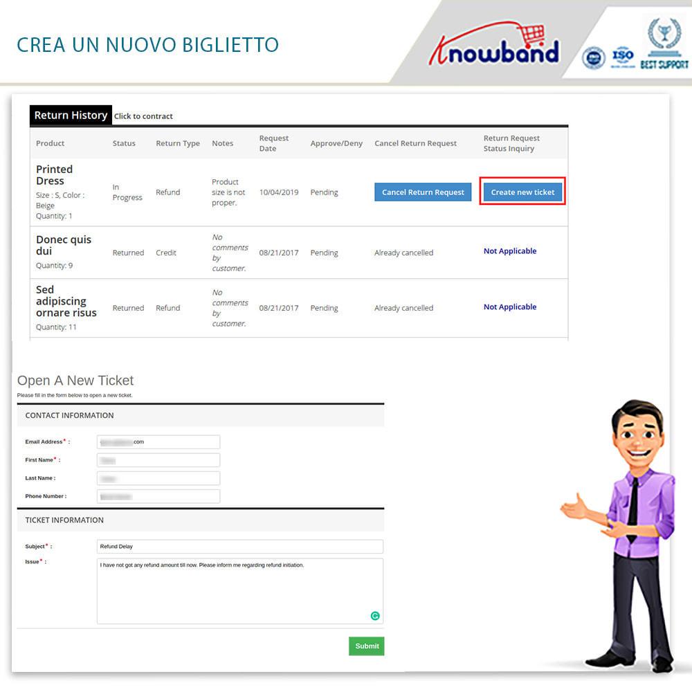 module - Servizio post-vendita - Knowband - Gestore Ordini di Restituzione - 6