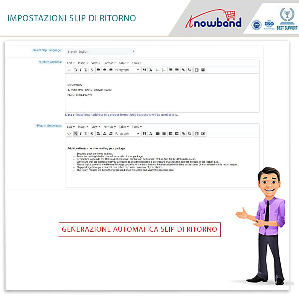 module - Servizio post-vendita - Knowband - Gestore Ordini di Restituzione - 10