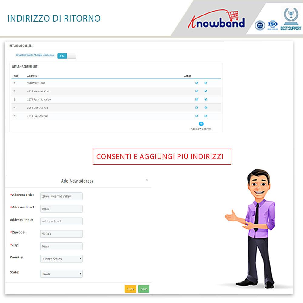 module - Servizio post-vendita - Knowband - Gestore Ordini di Restituzione - 13