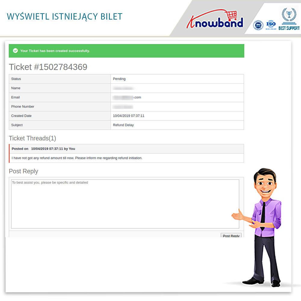module - Serwis posprzedażowy - Knowband - Order Return Manager(Return Slip & Barcode) - 7
