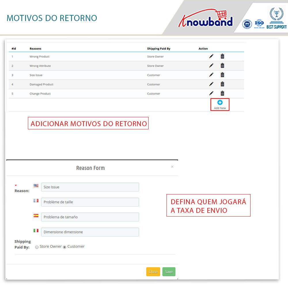 module - SAC - Knowband - Gerenciador de Devoluções - 11