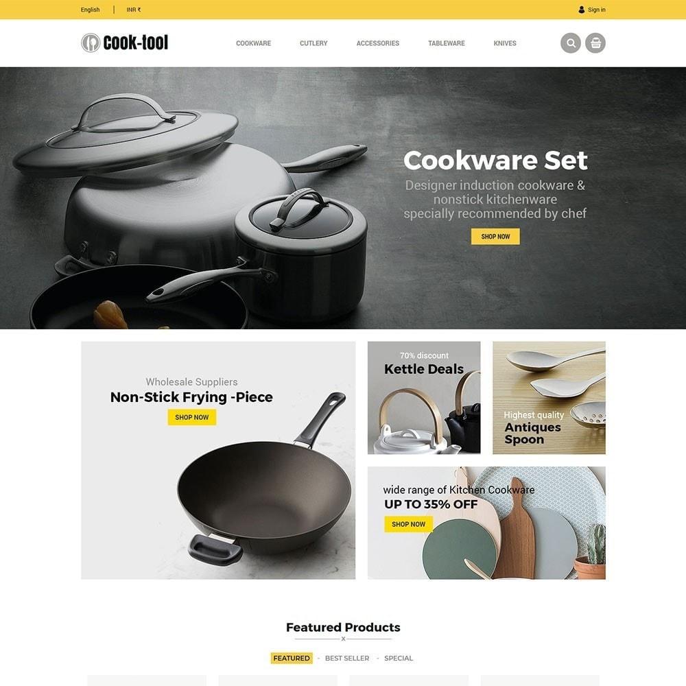 theme - Casa & Giardino - Strumento Cook - Negozio di cucina Art Decor - 5