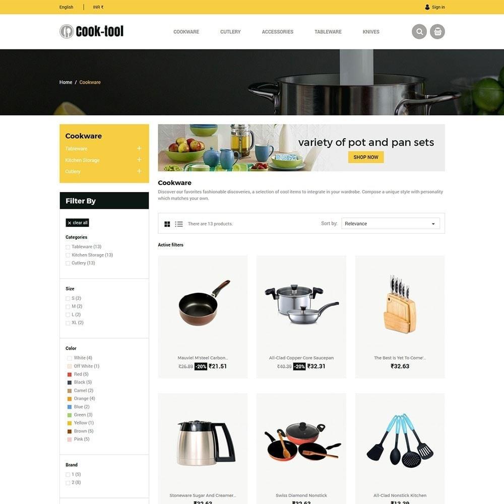 theme - Huis & Buitenleven - Cook tool - Kitchen Art Decor winkel - 4