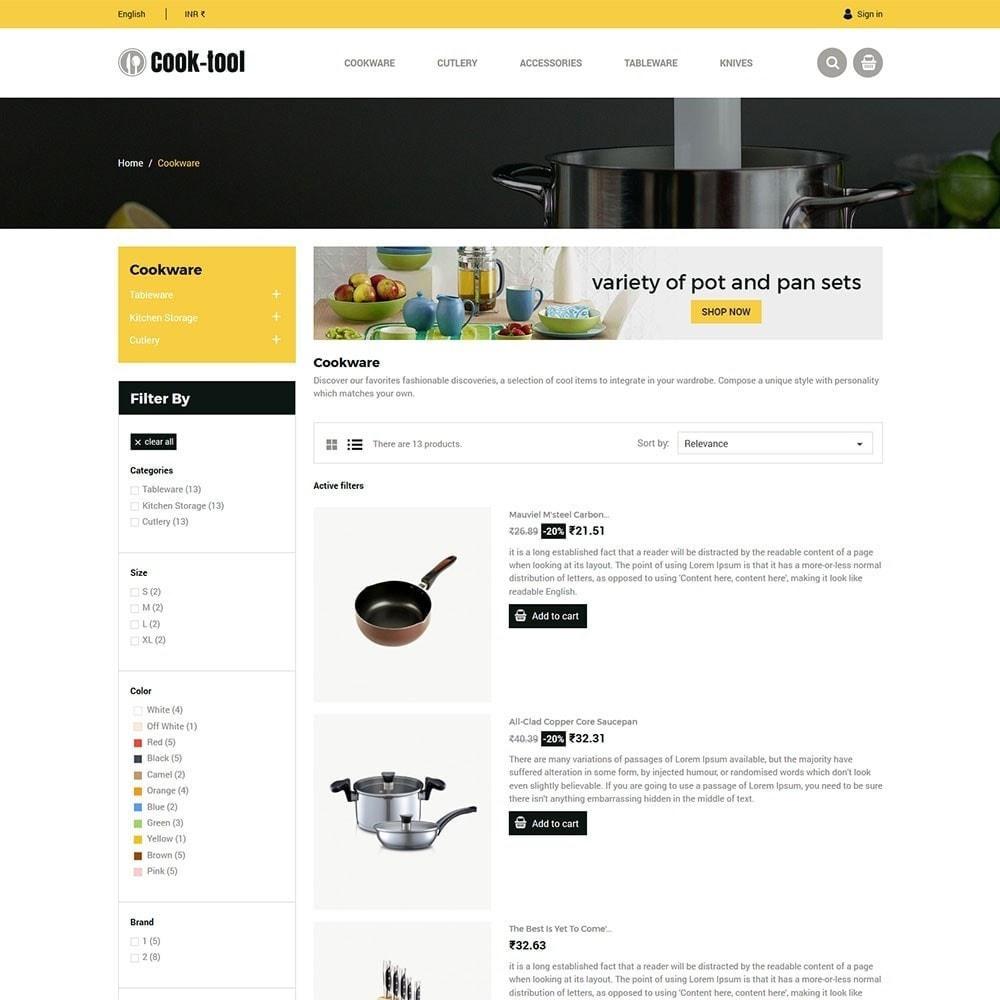 theme - Casa & Jardins - Cook tool - Loja de Arte e Decoração de Cozinha - 5