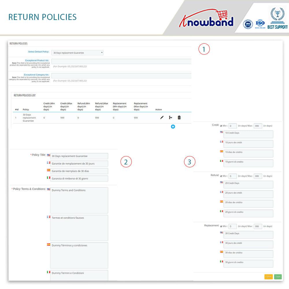 module - Customer Service - Knowband - Order Return Manager(Return Slip & Barcode) - 11