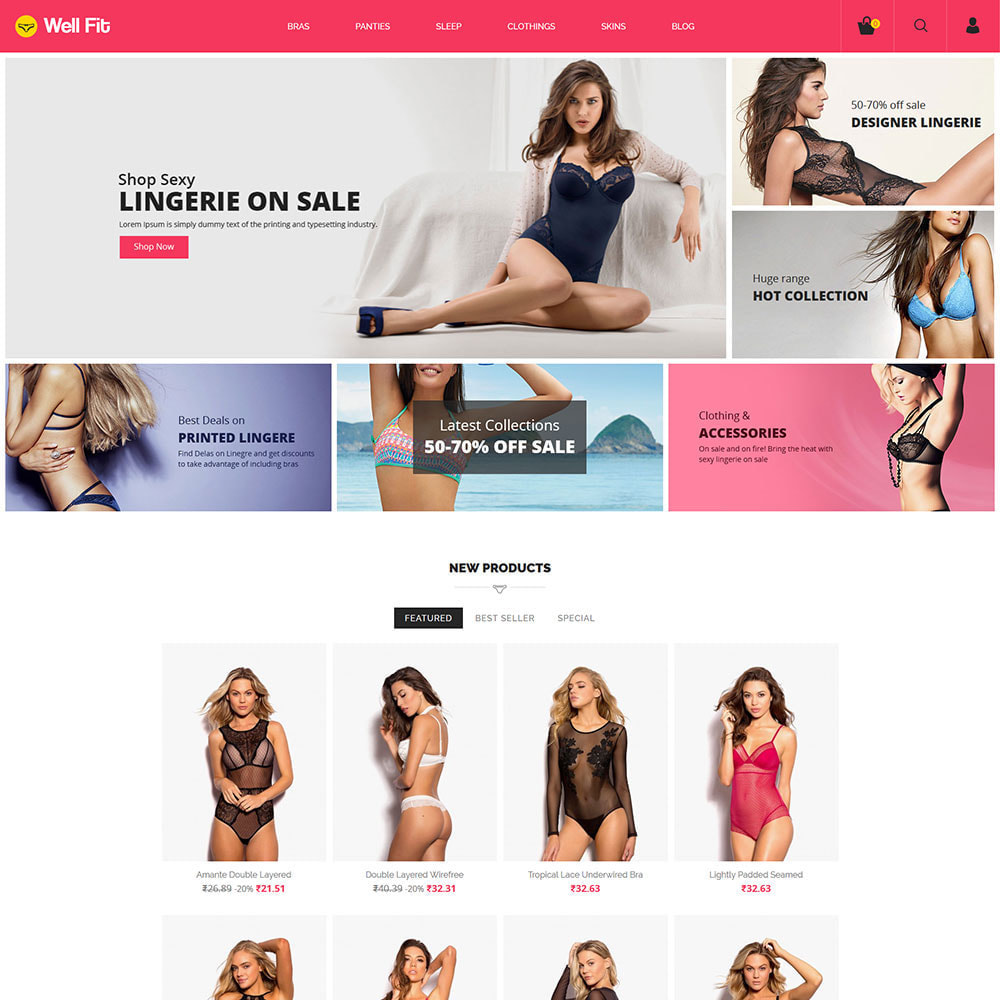 theme - Lingerie & Adulti - Reggiseni - Lingerie Fashion Store - 4