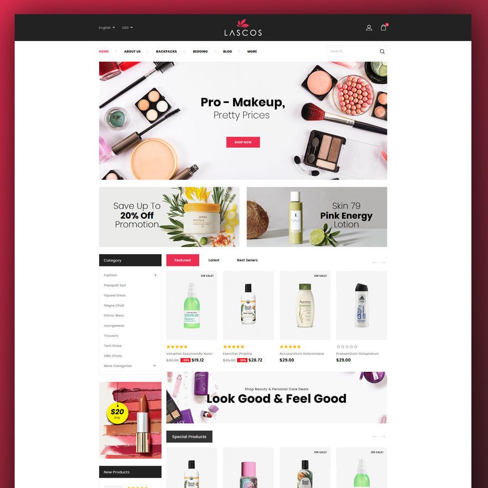 theme - Salute & Bellezza - Lascos -Beauty Store - 2