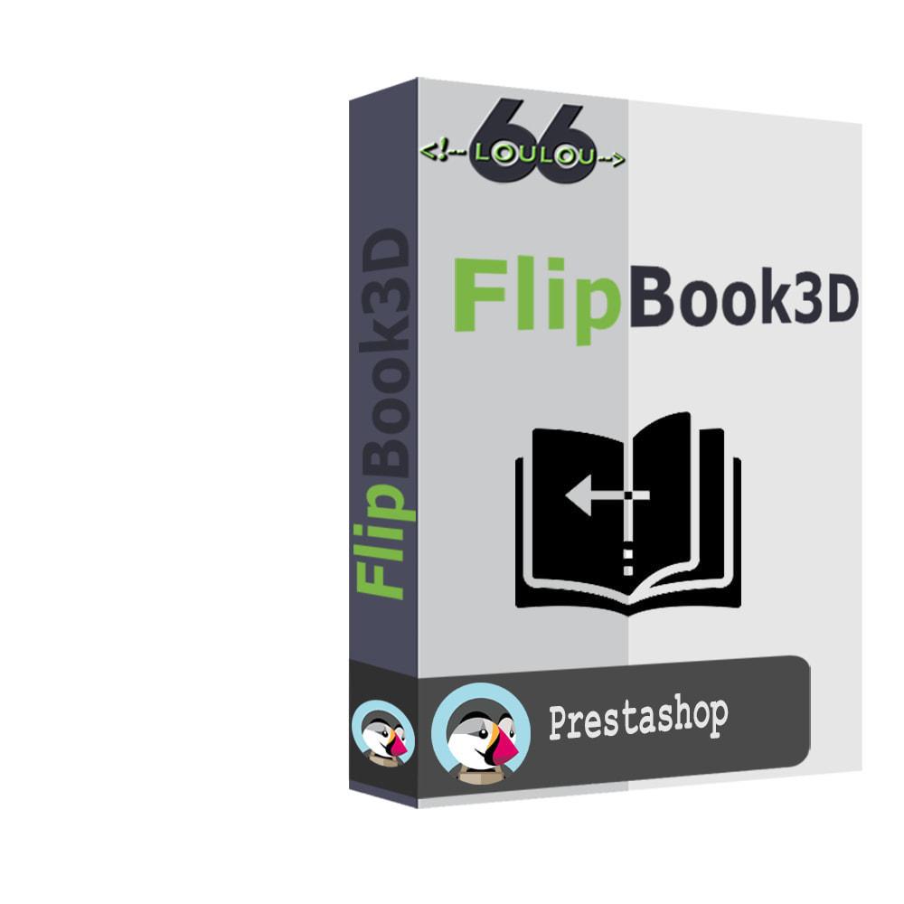 module - Показ товаров - 3D Flipbook - 1