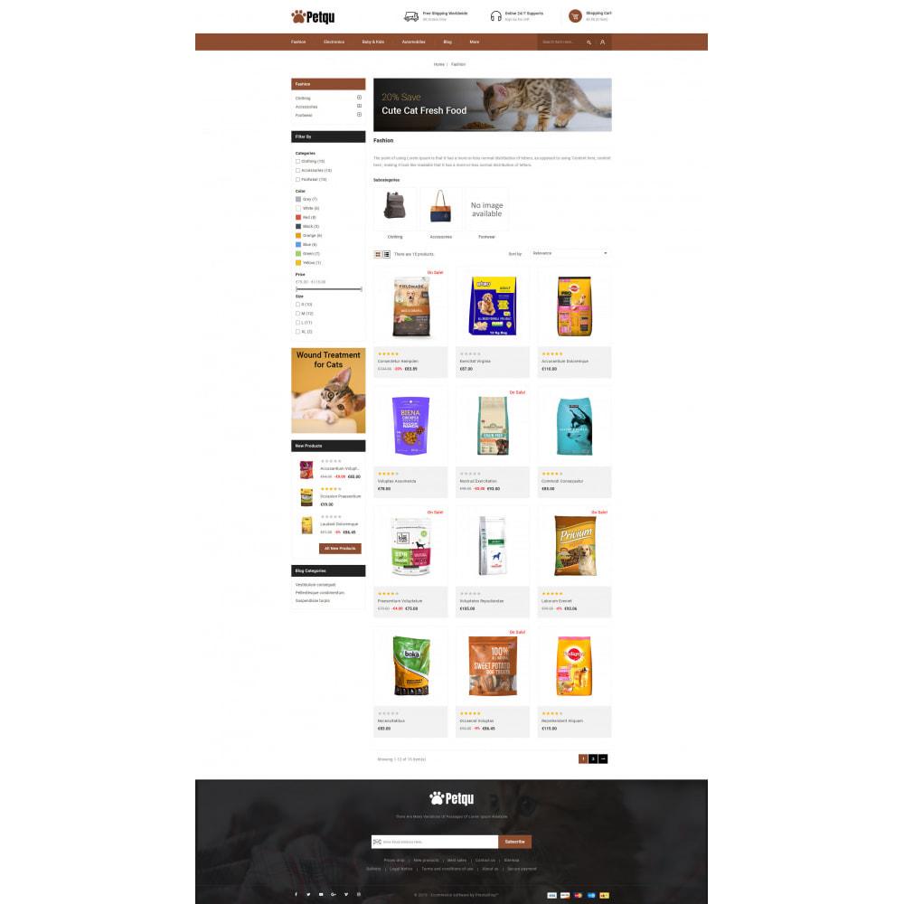 theme - Animals & Pets - Petqu - Pets Store - 3