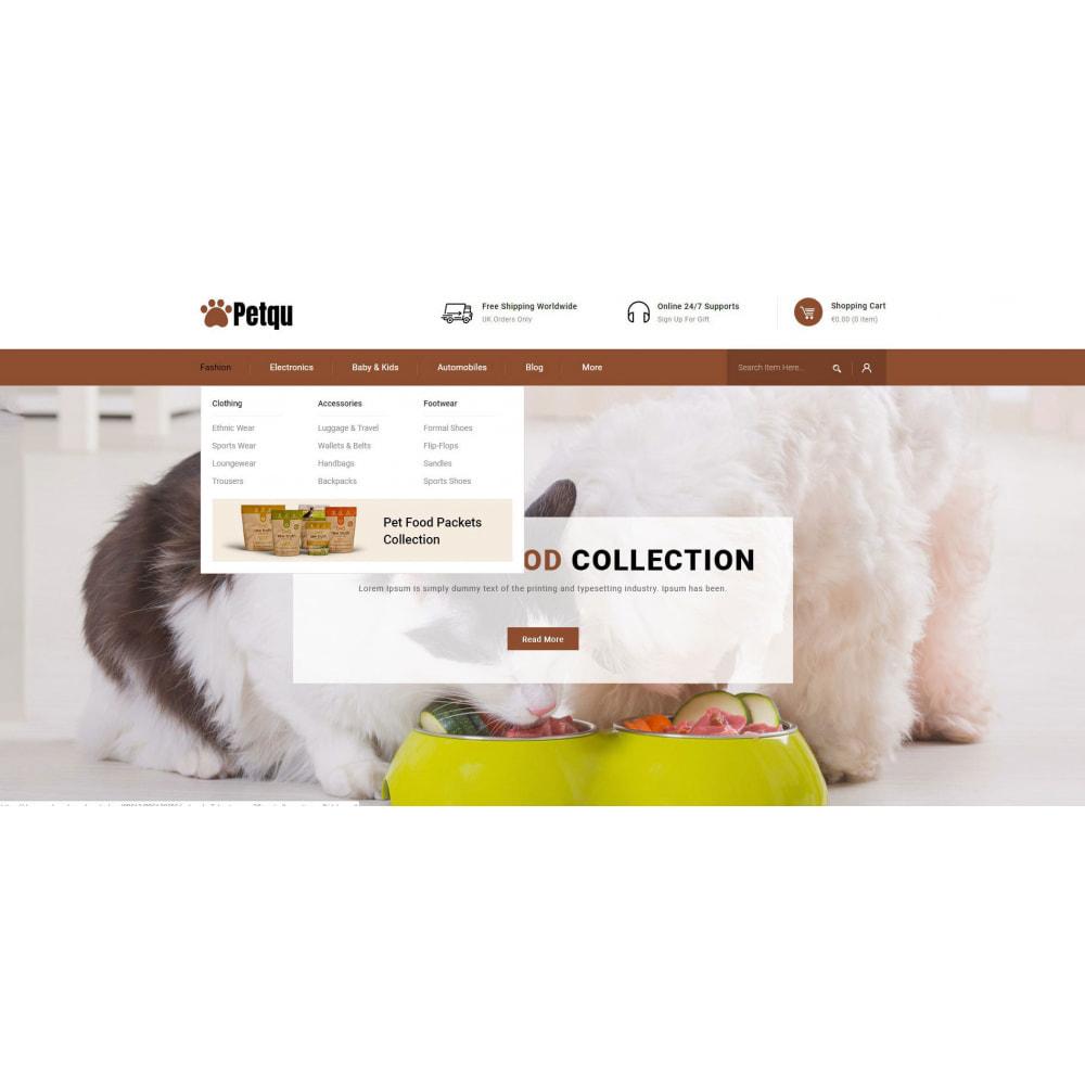 theme - Animals & Pets - Petqu - Pets Store - 6