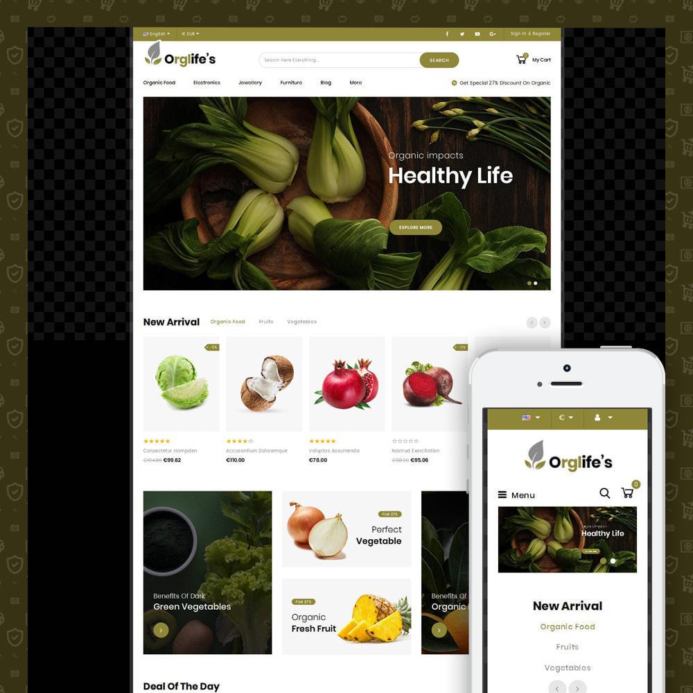 theme - Food & Restaurant - Orglifes - Organic Store - 1