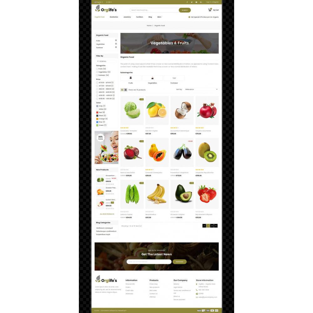 theme - Food & Restaurant - Orglifes - Organic Store - 2