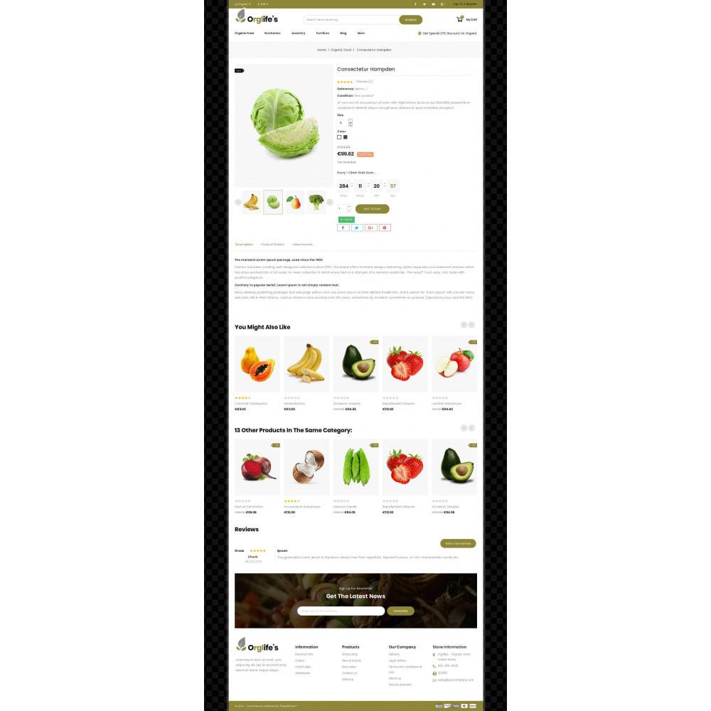 theme - Food & Restaurant - Orglifes - Organic Store - 4