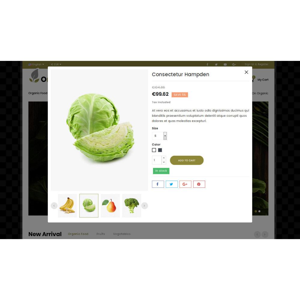 theme - Food & Restaurant - Orglifes - Organic Store - 6