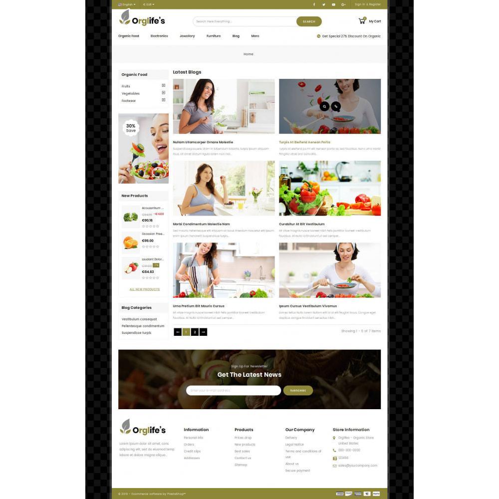 theme - Food & Restaurant - Orglifes - Organic Store - 8