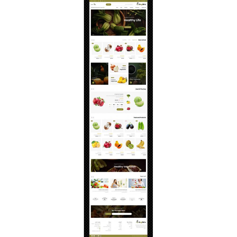 theme - Food & Restaurant - Orglifes - Organic Store - 9