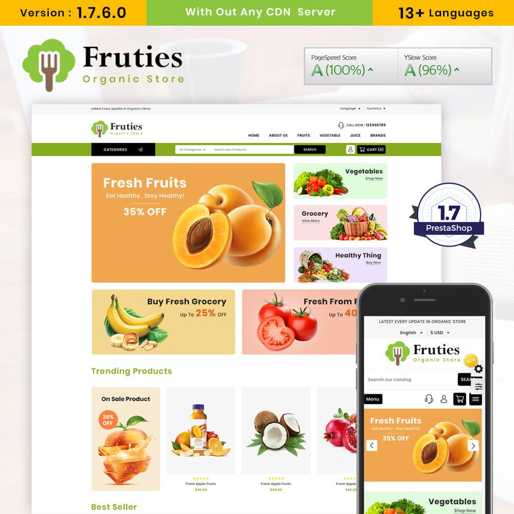 theme - Food & Restaurant - Organic Store - 1
