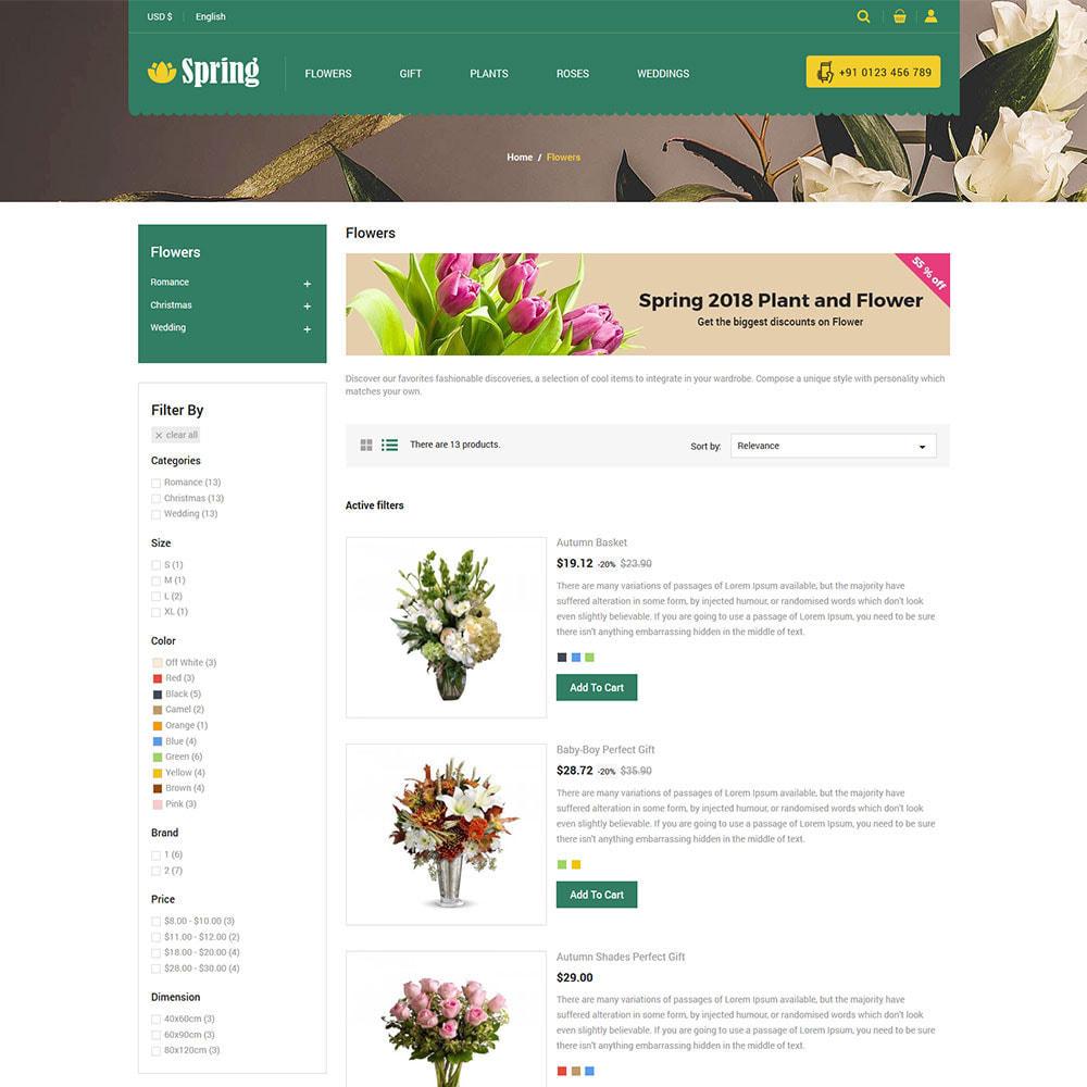 theme - Prezenty, Kwiaty & Uroczystości - Spring Flower - Valentine Gift Store - 6