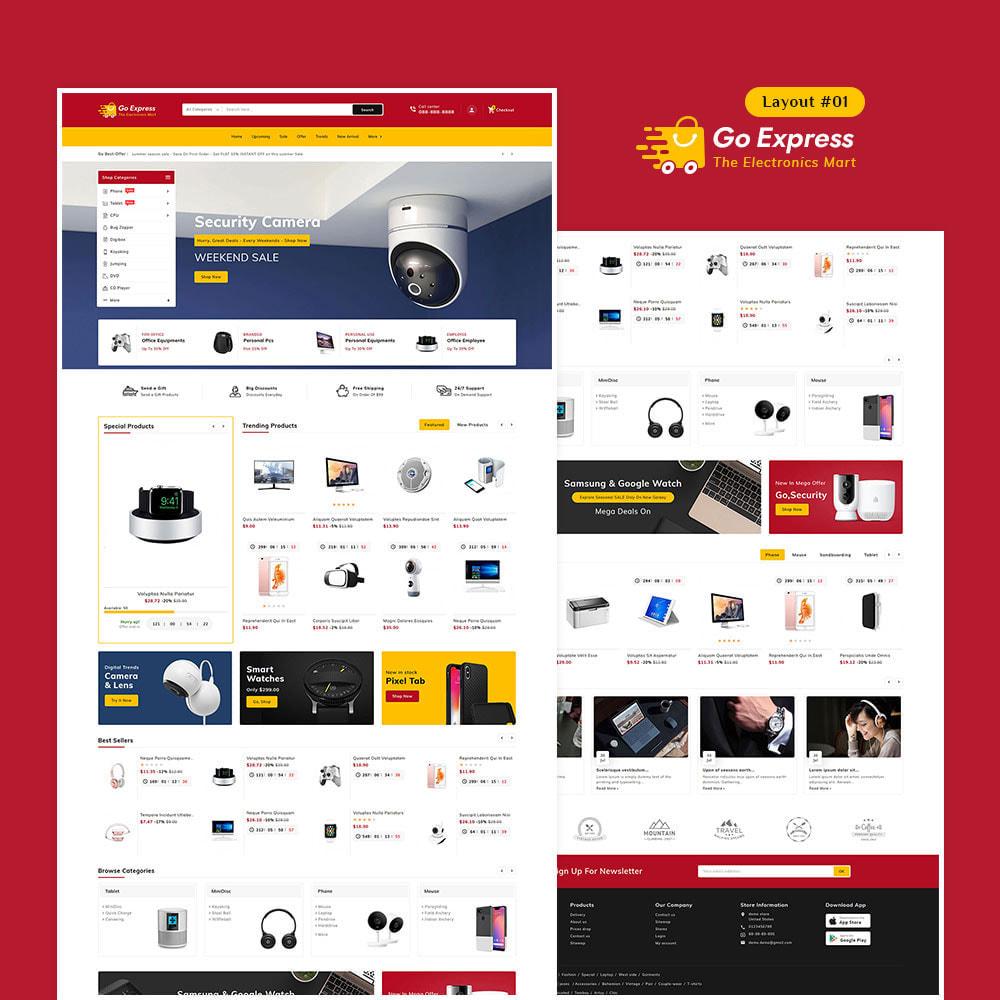 theme - Elektronika & High Tech - Go Express - Multi Purpose Mega Store - 2