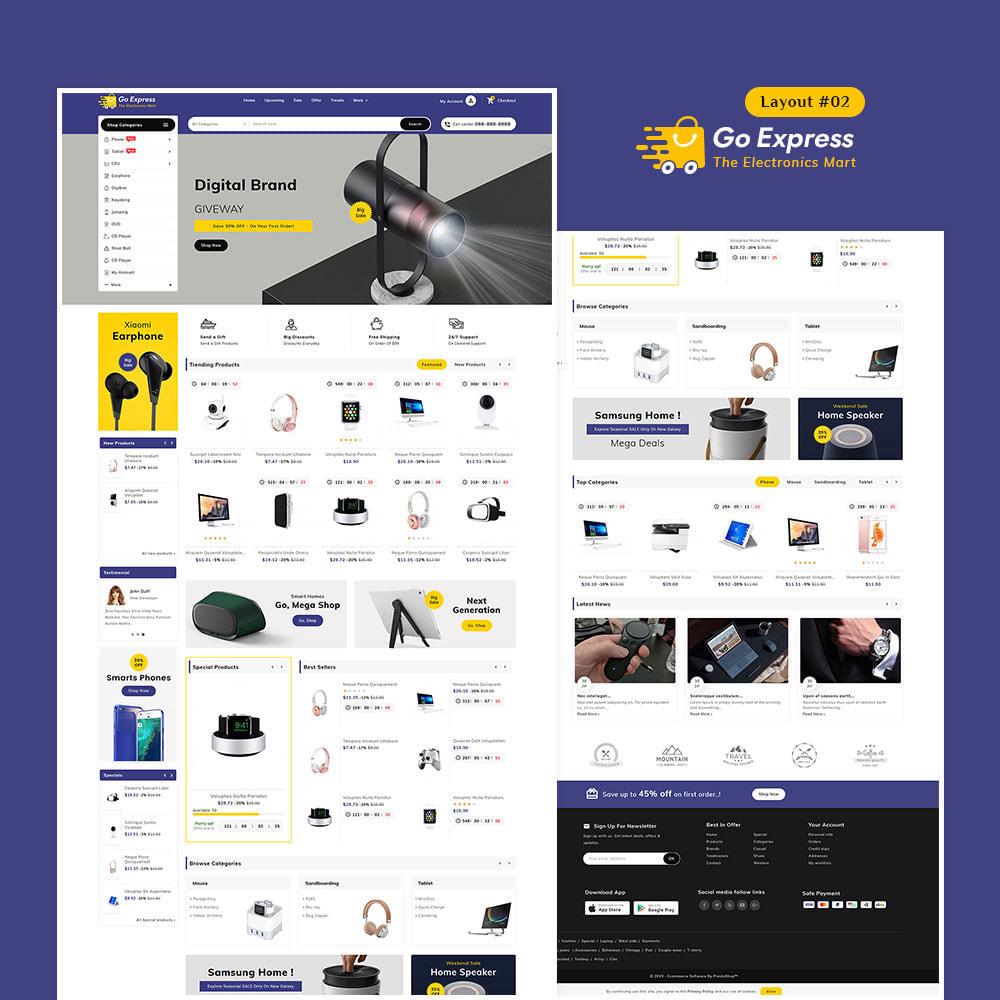 theme - Elektronika & High Tech - Go Express - Multi Purpose Mega Store - 3