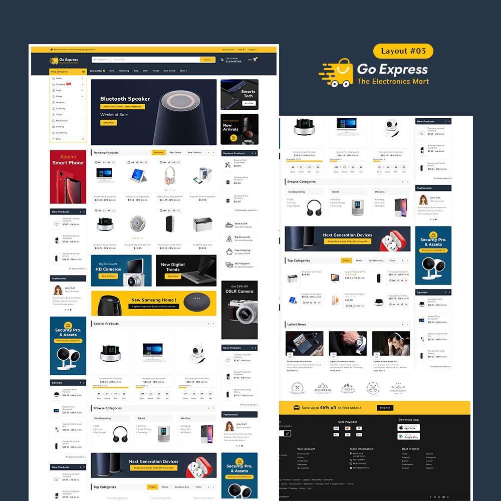 theme - Elektronika & High Tech - Go Express - Multi Purpose Mega Store - 4