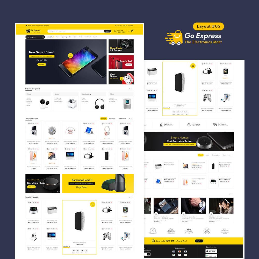theme - Elektronika & High Tech - Go Express - Multi Purpose Mega Store - 6