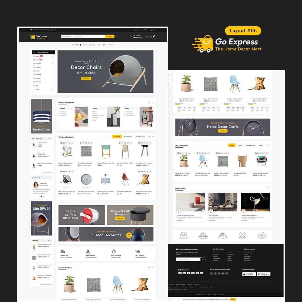 theme - Elektronika & High Tech - Go Express - Multi Purpose Mega Store - 7