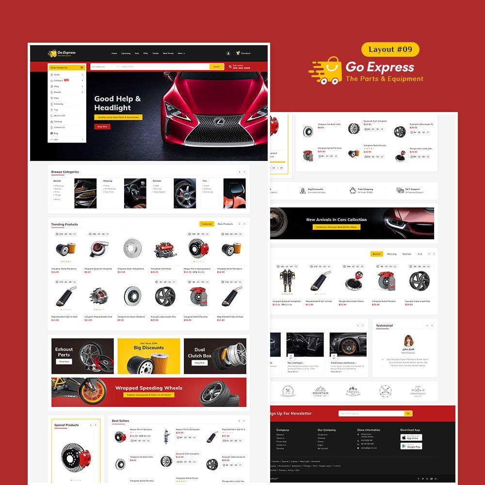 theme - Elektronika & High Tech - Go Express - Multi Purpose Mega Store - 10