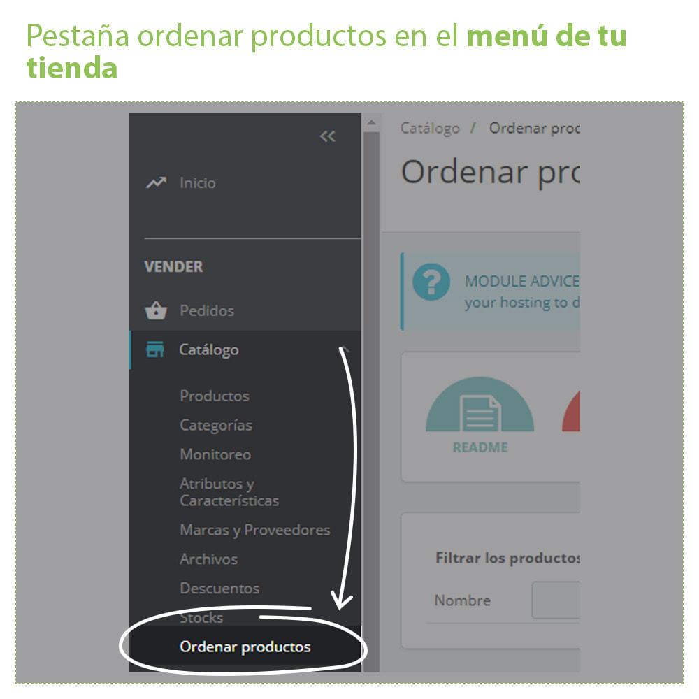 module - Edición Rápida y Masiva - Ordenar Productos por Categoría - Orden Visualización - 2