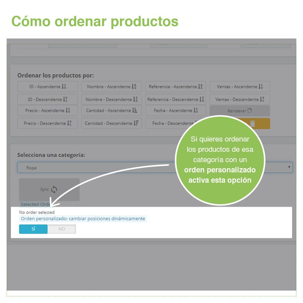 module - Edición Rápida y Masiva - Ordenar Productos por Categoría - Orden Visualización - 5
