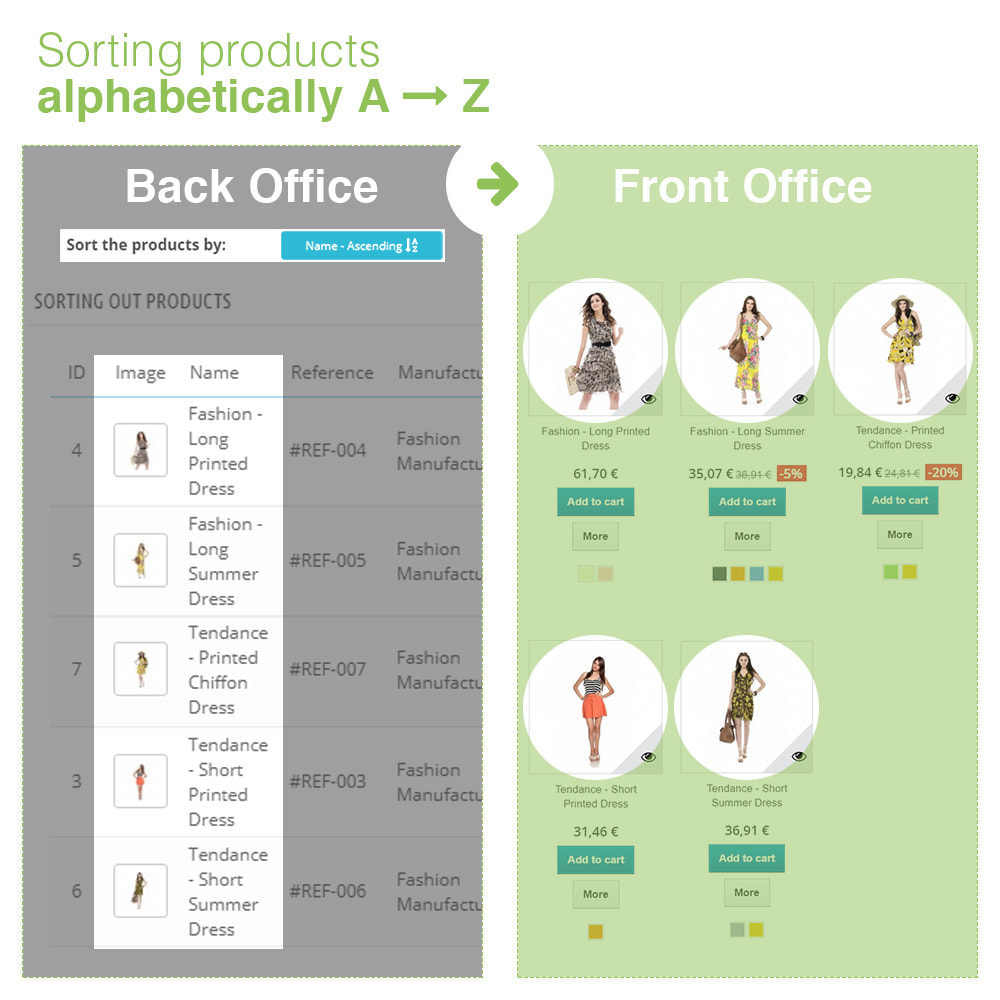 module - Fast & Mass Update - Sorting Out Products by Category - Display Order - 12