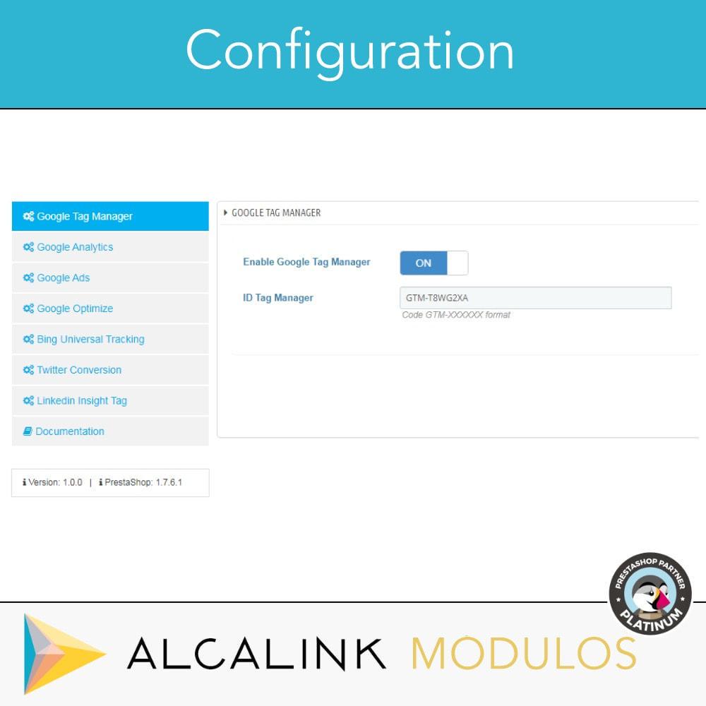 module - Análises & Estatísticas - Google Tag Manager + Add-ons. User activity. - 2