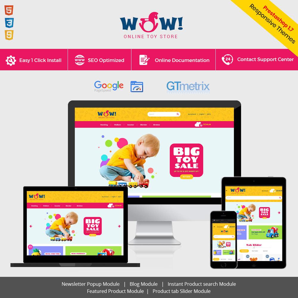 theme - Zabawki & Artykuły dziecięce - Wow Kids - Toys Baby Games Station Store - 2