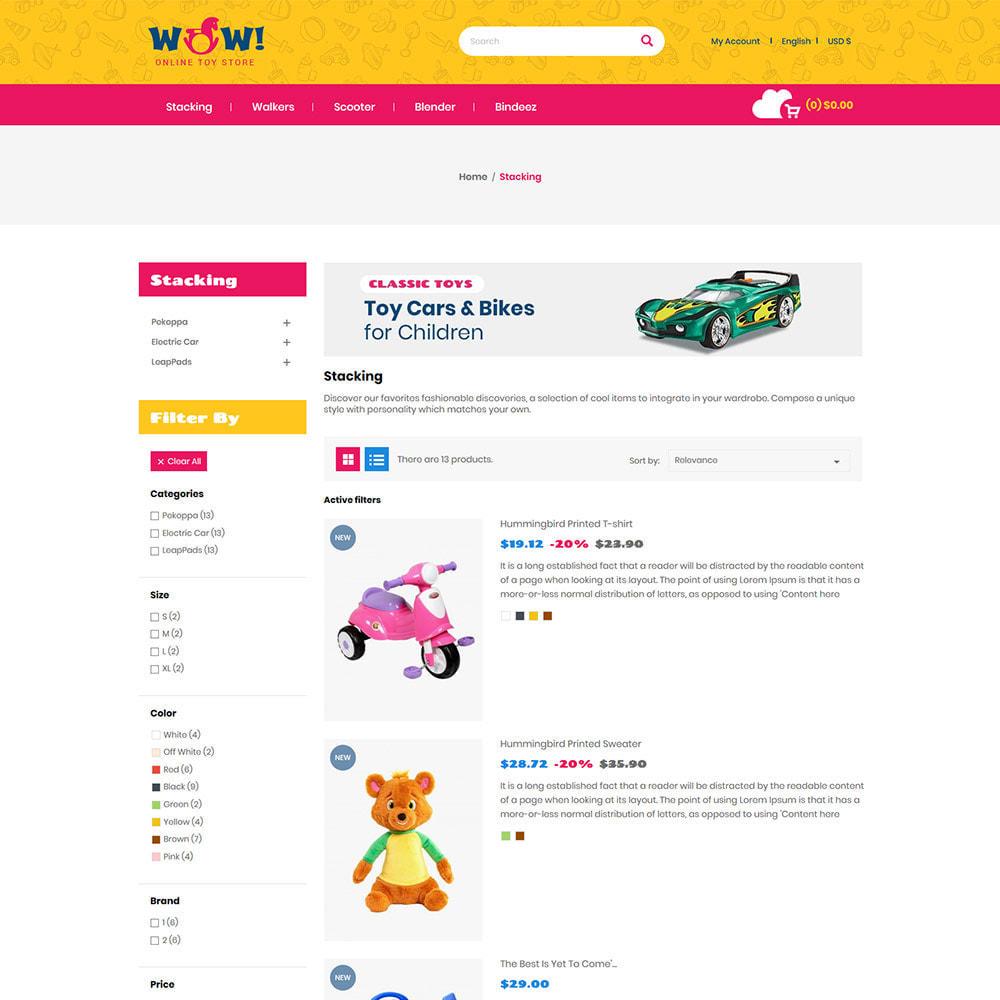 theme - Zabawki & Artykuły dziecięce - Wow Kids - Toys Baby Games Station Store - 5