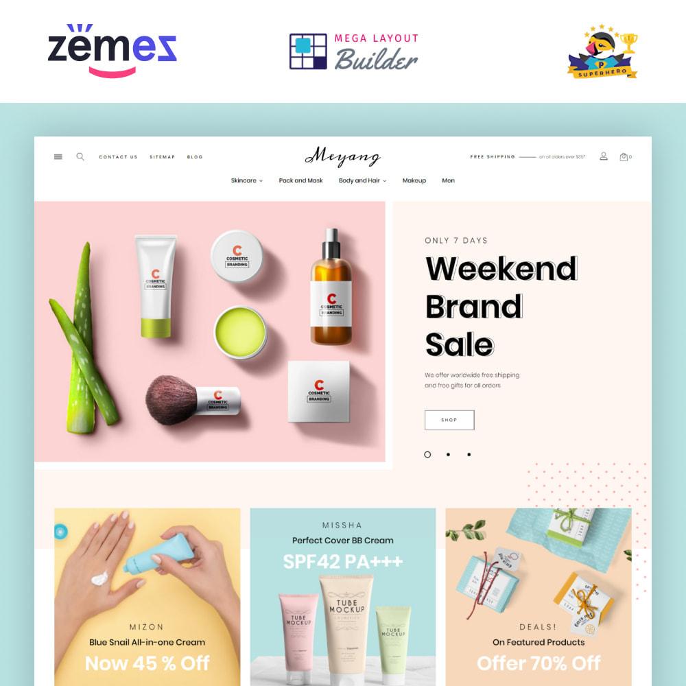 theme - Santé & Beauté - Meyang - Korean Cosmetics Shop - 1