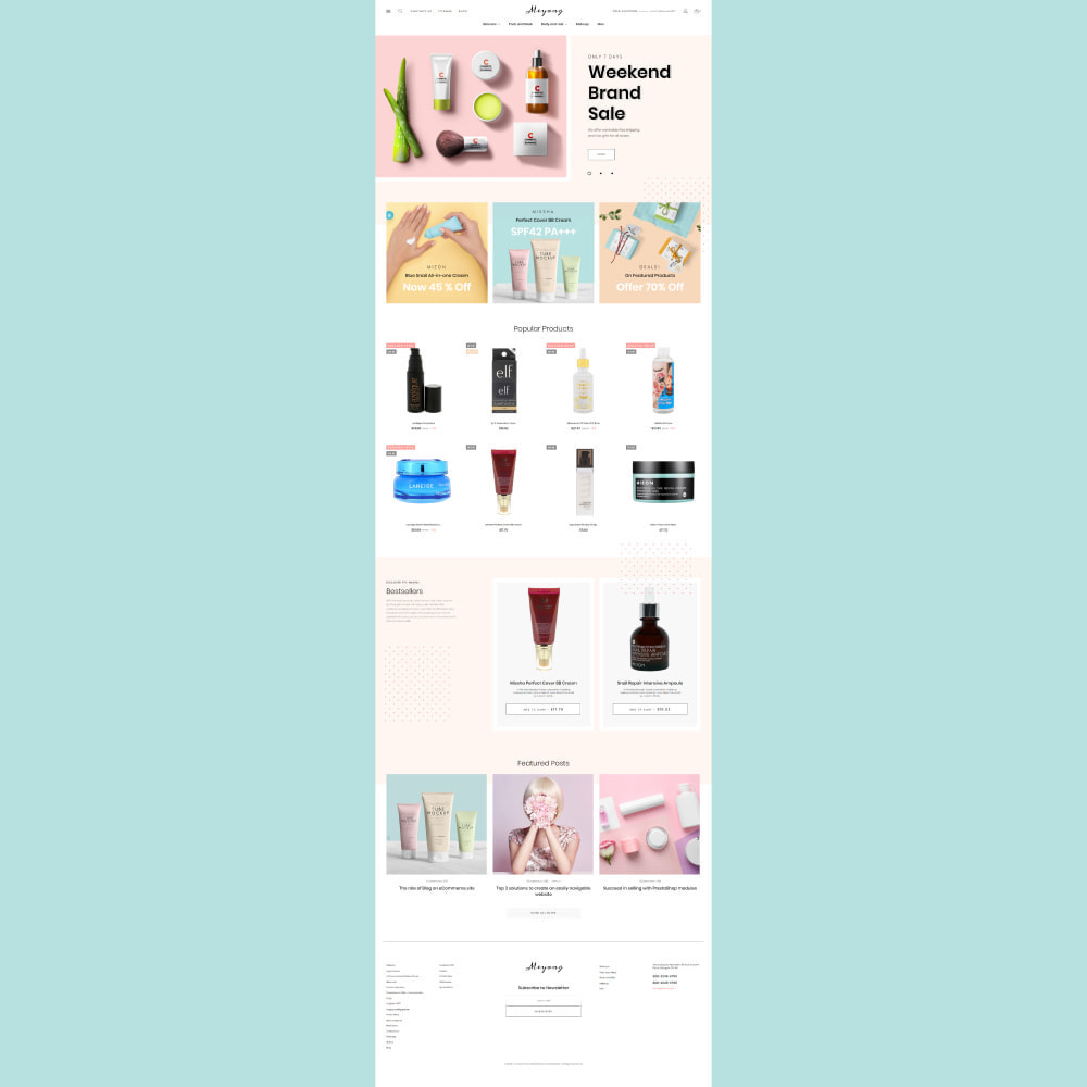 theme - Health & Beauty - Meyang - Korean Cosmetics Shop - 3