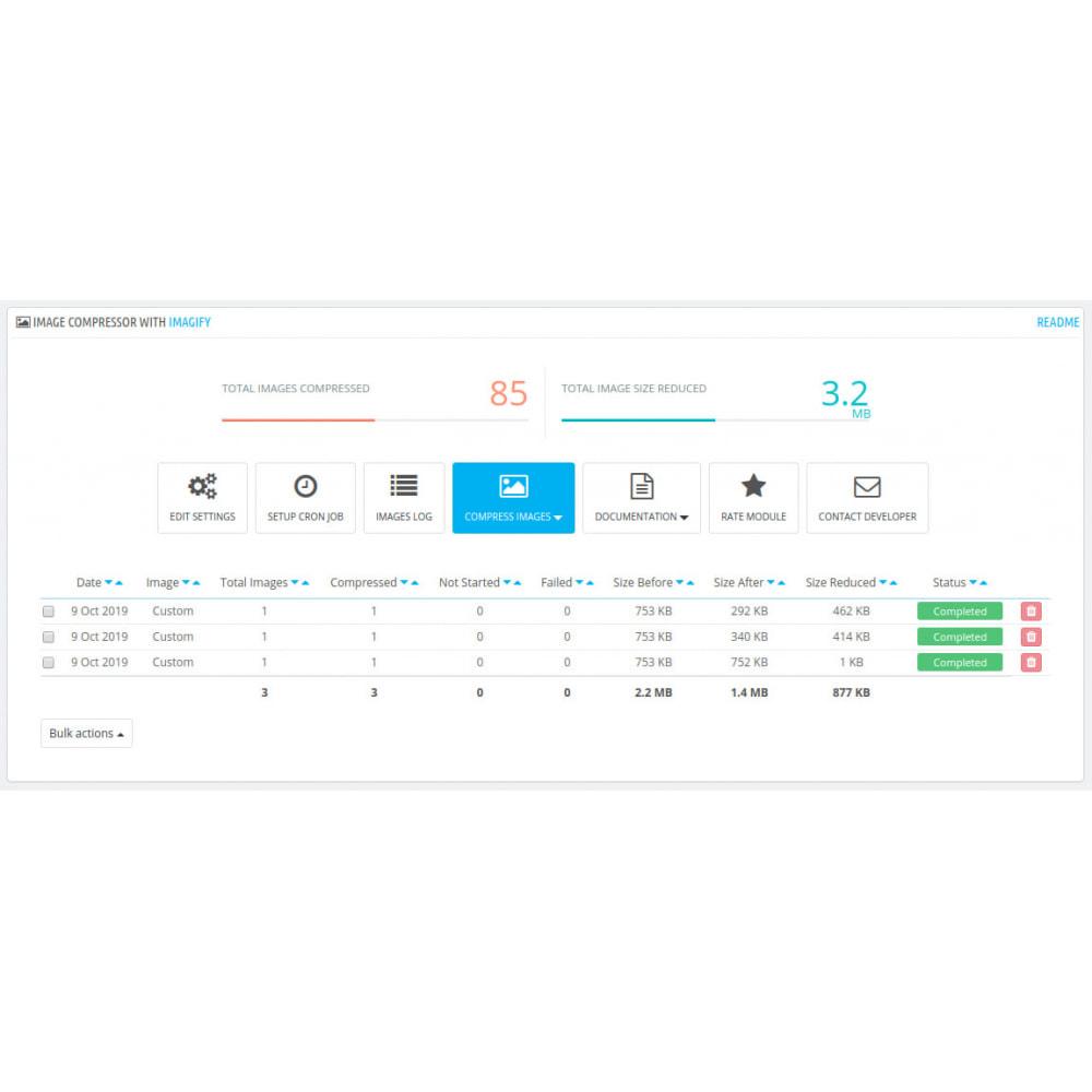 module - Website Performance - Compressore di immagini con IMAGIFY - 4