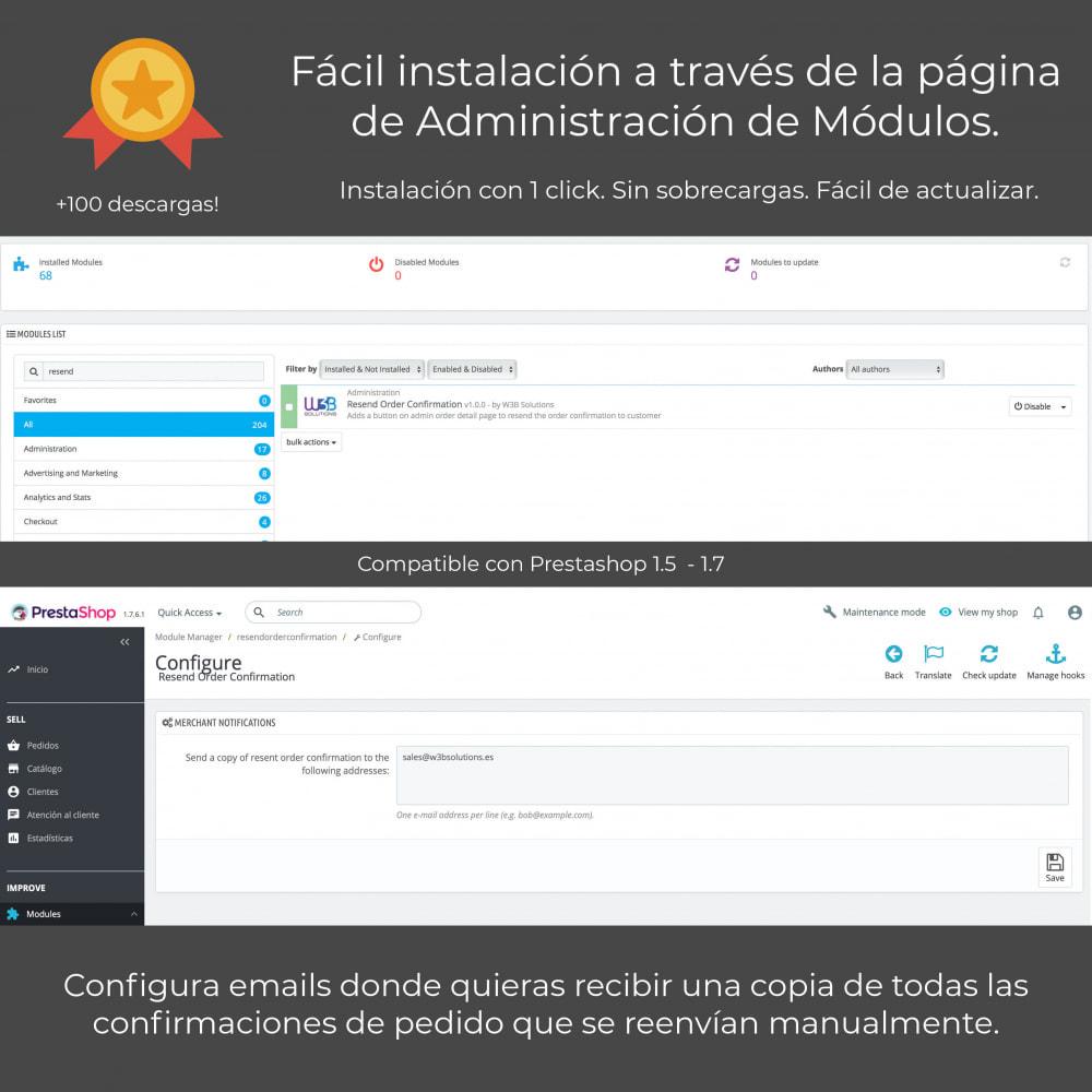 module - E-mails y Notificaciones - Reenviar email de confirmación de pedido - 2