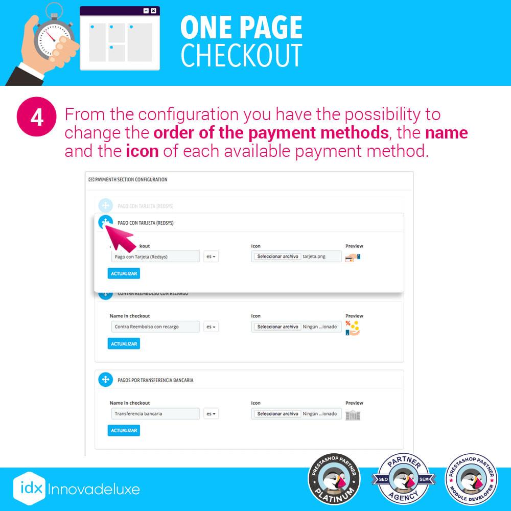 module - Express Checkout Process - One page checkout - Fast purchase process - 11