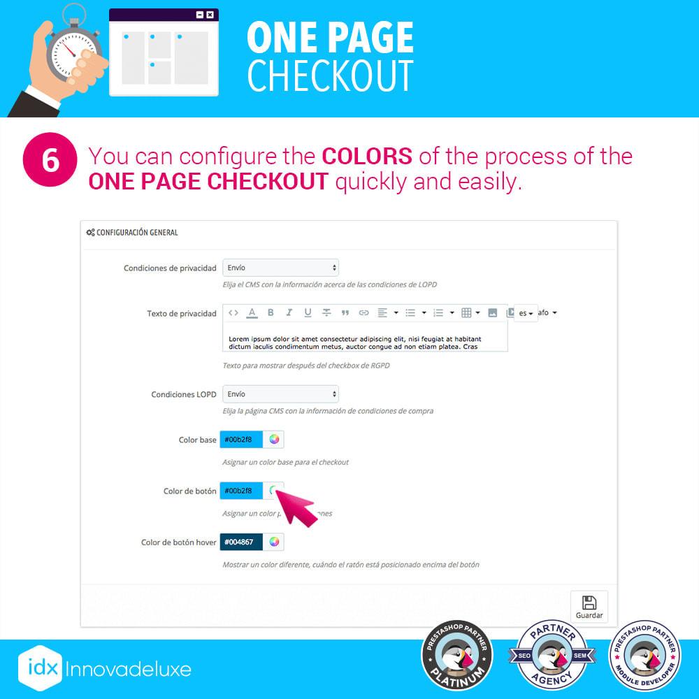module - Express Checkout Process - One page checkout - Fast purchase process - 13