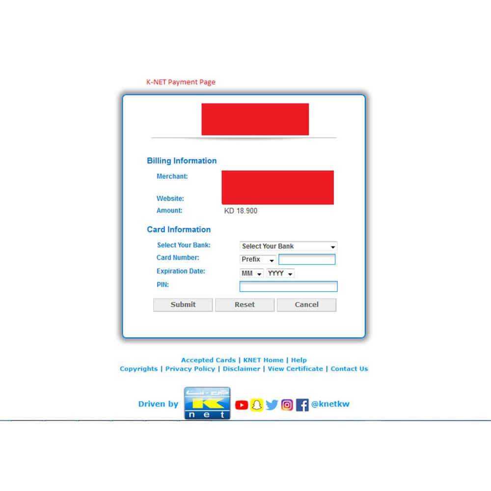module - Paiement par Facture - K-Net Payment - Kuwait's Leading Online Service - 8